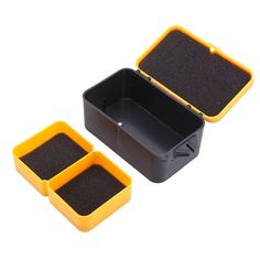EverTrust(TM) 10 * 6 * 4.8cm Double Layer Fishing Box Multifunction Plastic Baits Earthworm Worm Lure Carp Fishing Tackle Box Storage Case * Want additional info? Click on the image.