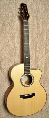 Guitare Fish - Guitare Claise Acoustique acier
