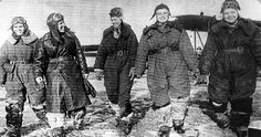 "Ladies in History: Night Witches.  ""Does this 1942 flight suit make me look fat?"" things you would NOT hear these ladies say.  This regiment flew harassment and precision bombing missions against the German military fr 1942 to the end of the war."