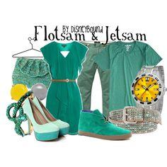 """Flotsam & Jetsam"" by lalakay on Polyvore"