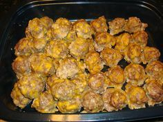 Low Carb Breakfast Sausage Balls Recipe ~ Great Low Carb Meals