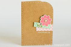 Cards by Fran - Dia dos Namorados #card #scrapbook #valentinesday
