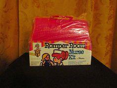Rare 1969 Vintage Hasbro Romper Room Nurse by VintageAntiquePortal