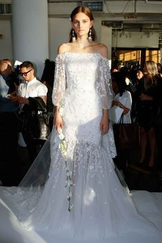 Wedding Dresses New Trends - Ruffles Pearls Bows