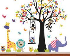 Nursery wall decal Tree decal Children Wall by wallartdesign