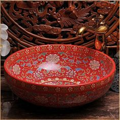 Aliexpress.com : Buy Europe Vintage Style Handmade Art Porcelain Deep Blue Countertop Basin Sink Handmade Ceramic Bathroom Vessel Sinks Vanities from Reliable vanity sink cabinet suppliers on The Fourth Dimension Of Life