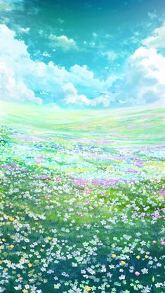 Anime Backgrounds Wallpapers, Anime Scenery Wallpaper, Landscape Wallpaper, Pretty Wallpapers, Animes Wallpapers, Nature Wallpaper, Fantasy Art Landscapes, Fantasy Landscape, Landscape Art