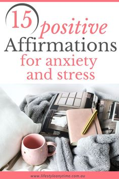 Anxiety and stress can come at any time. I've found that positive affirmations help with anxiety and stress. We all affirm differently. These positive affirmations can be said daily, each morning or when needed. #positiveaffirmations #affirmations #anxietyandstress Positive Psychology, Positive Mindset, Positive Thoughts, Positive Affirmations For Anxiety, Daily Affirmations, Reduce Stress, How To Relieve Stress, Feeling Stressed, How Are You Feeling