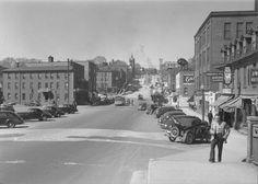 King Street, facing west  Vue sur la côte king  1948