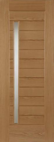 External Oak Oslo Door - MODA DOORS
