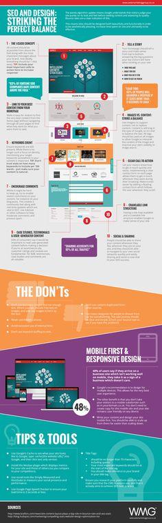 El equlibrio entre el Diseño Web y el #Seo #marketingdigital