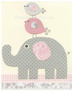 Baby+Girl+Nursery+Wall+Art+Baby+Girl+Nursery+Decor+by+DesignByMaya,+$65.00