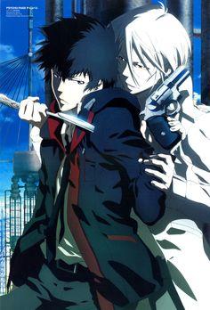Shogo and Shinya, PSYCHO-PASS