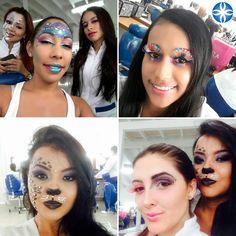 El maquillaje es una expresión artística en #lacole te enseñamos. #aprendeconlosmejores #maquillajeprofesional