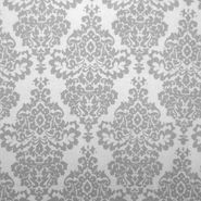 Quilter's Flannel Fabric- Damask Gray