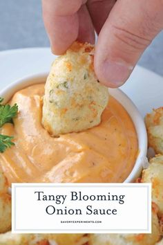Outback Blooming Onion Sauce, Baked Blooming Onion, Blooming Onion Recipes, Blooming Onion Dipping Sauce Recipe, Onion Rings Dipping Sauce, Onion Ring Sauce, Dipping Sauces, Bbq Sauces, Kfc