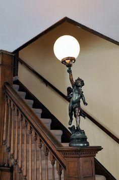 Lighting the stairway