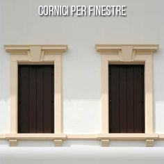 Risultati immagini per tronco mensola finestra cornice - Profili per finestre ...
