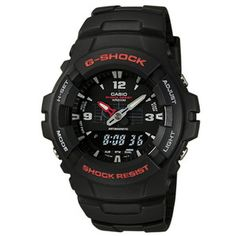online shopping for Casio Mens G-Shock Ana-Digi Watch, Molded Resin Case Band from top store. See new offer for Casio Mens G-Shock Ana-Digi Watch, Molded Resin Case Band G Shock Watches, Casio G Shock, Sport Watches, Amazing Watches, Cool Watches, Watches For Men, Casual Watches, Popular Watches, Casio Vintage