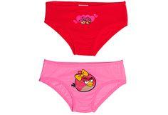 Angry Birds tyttöjen alushousut, 2 kpl - Prisma verkkokauppa, 5,55 €. Koko 100cm-110cm    KAIKENMOISET PIKKARIT KÄY