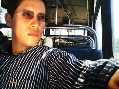 Selfportrait   bus   hot