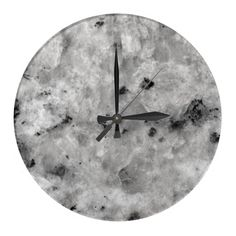 Simulated marble designer wall decor clock with black and gray marble pattern on the clock face let's you decorate your walls in style. Designed for any kitchen, dining room, living room or bedroom and works well with a modern or contemporary look. Marble Wall, Gray Marble, Gray Away, Modern Wedding Gifts, Wall Clock Design, Marble Pattern, Sentimental Gifts, Wall Clocks, Black And Grey