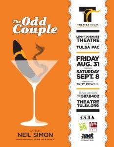 The Odd Couple. Theatre Tulsa.