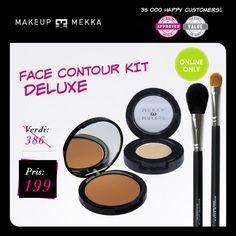 The Face Contour Kit Deluxe fra Makeupmekka. Om denne nettbutikken: http://nettbutikknytt.no/makeupmekka-no/