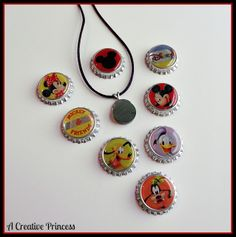 A Creative Princess: Interchangeable Disney Necklace