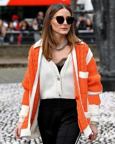 ec0337ea57  NEW Olivia Palermo attends the Miu Miu show for the PFW today!✨ -