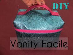 Tuto Couture - Vanity Facile Vanity Facile - Tuto Couture ⋆ Les Tutos Couture de Viny - Sewing and D Girls Vanity, Diy Vanity, Vanity Desk, Diy Beauty Lotion, Diy Crafts For Teen Girls, Kids Diy, Diy Tumblr, Blog Couture, Diy Presents