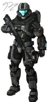 Explore the Halo collection - the favourite images chosen by on DeviantArt. Halo 5, Halo Game, Armadura Do Halo, Armadura Sci Fi, Halo Spartan Armor, Halo Armor, Halo Reach, M4a1 Rifle, Odst Halo