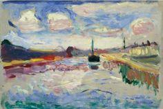"Matisse, ""Caral du midi"",1898"