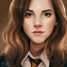"194 Likes, 2 Comments - SuperWhoPotterLock Fan Page (@allons_y_allonso_) on Instagram: ""Omg this Hermione granger fan art is amazing -C Tags #harrypotter #newt #gryffindor…"""
