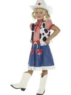 Søt Cowgirl kostyme - Cowboy kostyme