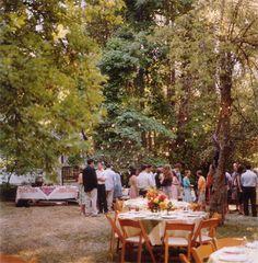 outside wedding