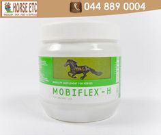 MOBIFLEX®-H is specially formulated for horses and is a combination of four potent natural ingredients, which has been shown to alleviate symptoms associated with loss of mobility, such as stiffness and inflammation. Available at #HorseEtc #welovehorses #MOBIFLEX