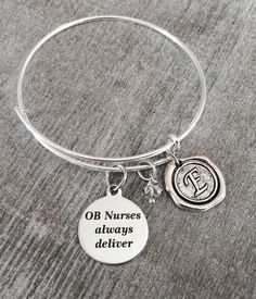MIDWIFE BRACELET Gift for Midwife Obstetrics OBGYN by SAjolie