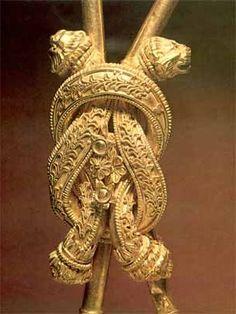 Musée archéologique de Thessaloniki : le noeud gordien d'Heracles