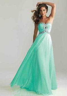 Prom dress mint