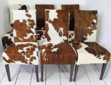 Dining Room See More Cow Hide To Cover My Couch Cushions Love It
