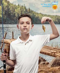 Chupa Chups Print Ad - Fish