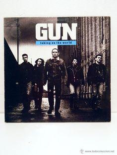 GUN Taking On The World LP 1989