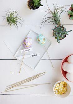 Easter Egg Place Cards - lark & linenlark & linen