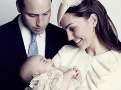 New photo of Prince George's christening revealed (Photo: Jason Bell / Camera Press)