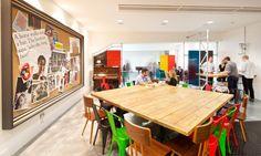 0860 McCann 04 700x419 McCann Ericksons Refurbished London Reception and Breakout Areas
