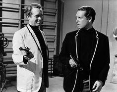 """Patrick McGoohan is """"The Prisoner"""" (in a scene from the episode """"The Schizoid Man"""").  From the first episode - """"I will not make any deals with you.  I've resigned.  I will not be pushed, filed, stamped, indexed, briefed, debriefed, or numbered.  My life is my own.""""  (One of the best television series ever created... and one of my all-time favorites.)"""