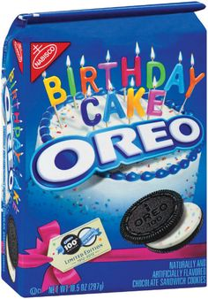 Birthday Cake Oreo's in honor of Oreo 100th Birthday!  Whattt where do i get these!? Must find!!