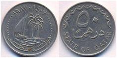 Qatar 50 Dirhem 1987
