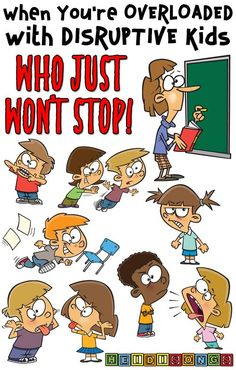 When You're OVERLOADED with DISRUPTIVE Kids Who JUST WON'T STOP! classroom management, tk, kindergarten, first grade